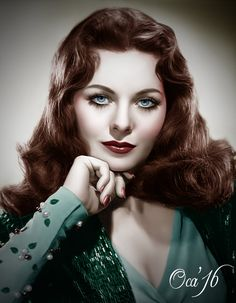 Rascal pick - Jeanne Crain by - Strawberry Blonde - Enchanting Eyes Vintage Hollywood, Old Hollywood Glamour, Hollywood Fashion, Hollywood Actor, Hollywood Stars, Hollywood Actresses, Classic Hollywood, Beauty Full Girl, Beauty Women