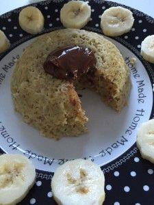 Bowl cake banane nutella   Rachel et sa cuisine gourmande et légère