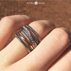 Ring von Pippa&Jean Silver Rings, Jewelry, Fashion, Moda, Jewlery, Jewerly, Fashion Styles, Schmuck, Jewels