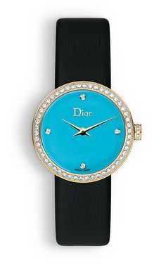Classic fashion. Dior La D De Dior. #Dior #watches