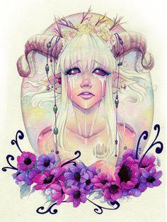 The Tears of the Faun by eserioart.deviantart.com on @DeviantArt