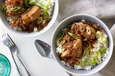 Spice up your chicken dinner with Asian flavours and fragrant jasmine rice.