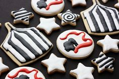 The Night Circus cookies.