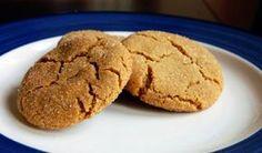 ginger molasses cookies.