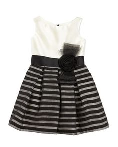 Striped-Overlay+Party+Dress+by+Zoe+at+Neiman+Marcus.