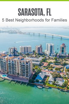 Thinking about living in Sarasota? Circus City is one of the best cities for year-round weather and a great place to raise kids, thanks to its affordable housing, family-friendly activities, and access to the Gulf Coast. If you're looking to settle down with your family, here are five Sarasota neighborhoods to consider! Circus City, Florida Living, Affordable Housing, West Palm Beach, Fort Lauderdale, Best Cities, Great Places, The Neighbourhood, Coast