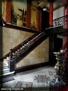 Hier das komplette Treppenhaus ohne die Spiegelperspektive des letzten Blogs. Großartig.  Photo: www.smg-treppen.de #smgtreppen