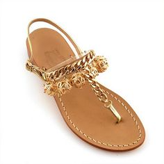 Gold Sandals Too!