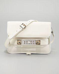 PS11 Mini Crossbody Bag, White by Proenza Schouler at Neiman Marcus.