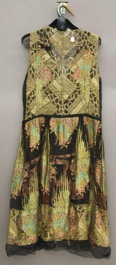 vestido de noche Erte, 1920 espalda
