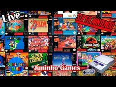 Juninho live 7 jogos de super nintendo jogos aleatorios