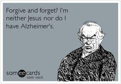 Oh My Freaking Stars!: Forgive & Forget@Rachel Jean freakin hilarious!