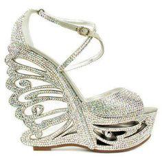 images of unusual shoes | Unique wedges | SaSSy♛Shoes