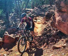 Mountain biking in Glenwood, Idaho