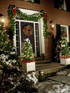 Outdoor+Christmas+Decoration+Ideas | Outdoor Holiday Decorating Ideas for Your Home | In My Own Style
