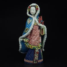 Find More Pottery & Enamel Information about Painted Figurine Christmas Sculpture Statue Art & Collectible Ladies Gift Ceramic Ornament Home Furnishing Craft Artwork ,High Quality craft clubs,China craft trumpet Suppliers, Cheap artwork people from Handicraftsman on Aliexpress.com
