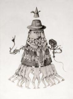 #illustration by Ceren Aksungur #popsurreal #lowbrow #darkart #pencil
