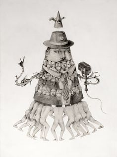#illustration by Ceren Aksungur #popsurreal #lowbrow #darkart #pencil