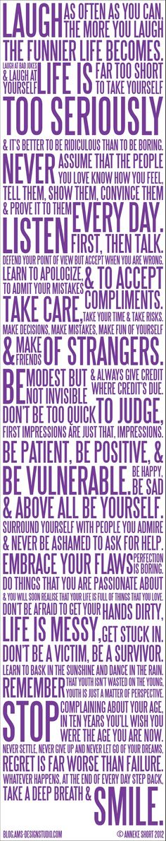 <3 Become your best self, live life with good intentions, commit random acts of kindness DAILY