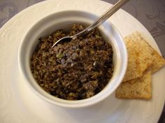 Ina's tapenade. Oldie but goodie, it never fails, and I almost always have all the ingredients in the house.