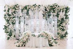 Wedding Table Themes Couple New Ideas wedding tables themes Wedding Table Themes Couple New Ideas Wedding Table Themes, Bridal Table, Wedding Stage, Wedding Ceremony, Dream Wedding, Ceremony Backdrop, Ceremony Decorations, Backdrop Design, Wedding Background