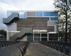 MVRDV. Effenaar Cultural Youth Centre. Eindhoven, Noord Bravant. The Netherlands #architecture