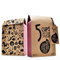 Mate trifft Schwarztee: TANTE SHANTI WACH UND FLINK | 5 CUPS and some sugar