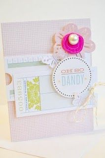 Love this card made with #GlueArts U Cut It Foam and designed by @Jenny Chesnick.