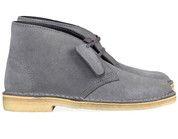 Grijze Clarks Originals boots Desert Boot enkelaarsjes