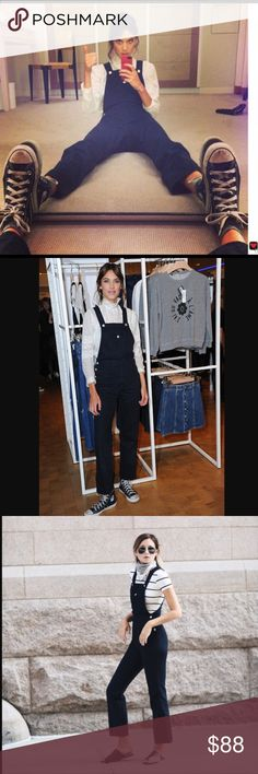 Alexa Chung Tennessee Overalls Size 26. Never worn. Handcrafted by Adriano Goldschmied for Alexa Chung. New with tags. Ag Adriano Goldschmied Jeans Overalls