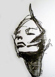 Charcoal no. Lee Woodman 2012 Charcoal no. Lee Woodman 2012 Charcoal no. Lee Woodman 2012 Charcoal no. Charcoal Sketch, Charcoal Art, Charcoal Drawings, Charcoal Portraits, Inspiration Art, Art Inspo, Pencil Drawings, Art Drawings, Drawing Faces