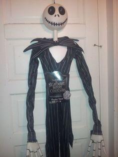 disneys nightmare before christmas 6 ft jack skellington halloween decoration ebay - Halloween Decorations Ebay