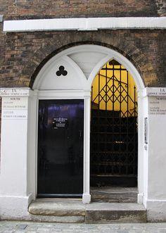 Gothic Doorway: Middle Temple Lane