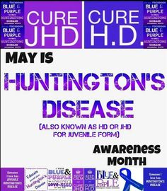 Huntington Disease, Disability Awareness, Disorders, Life Lessons, The Cure, Therapy, Natural, Blue, Life Lesson Quotes