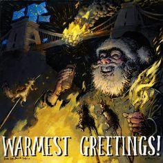 Happy Holidays to you and yours!  Here's another outing from Highly Questionable Santa. As is customary, here is the apology: Sorry. If you'd like to see previous years' outings, head  Hope 2018 was good for you and that 2019 gets off to a blazing start! But with bridges burnt, could the this be the end for Highly Questionable Santa..? Santa Christmas, Christmas Cards, Previous Year, Bridges, Happy Holidays, Christmas E Cards, Happy Holi, Xmas Cards, Christmas Letters