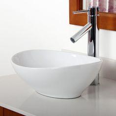 Found it at Wayfair.ca - Ceramic Boat-Shaped Bathroom Sink