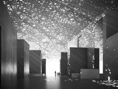 Image 4 of 15 from gallery of The Louvre Abu Dhabi Museum / Ateliers Jean Nouvel. Courtesy of Ateliers Jean Nouvel Jean Nouvel, Louvre Abu Dhabi, Light Luz, Sun Light, Light Rays, Abou Dabi, Art Et Architecture, Interactive Architecture, Shadow Architecture