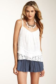 Madison Marcus Lace Cami