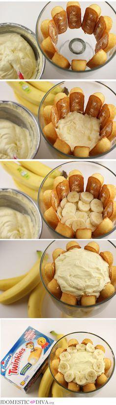 They're baaaaaaack!! Twinkie Banana Trifle Recipe