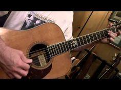 """Bluegrass Guitar Lesson 3 -- """"Walking"""" Between Chords"""