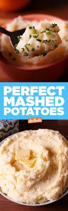 Perfect Mashed Potatoes  - Delish.com