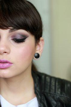 Maquiagem da semana: Black Grape Makeup Look