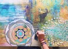 Slow Living: Create selection by Danielle Chassin @hippieindisguise // photo and painting by Faith @faithevanssills
