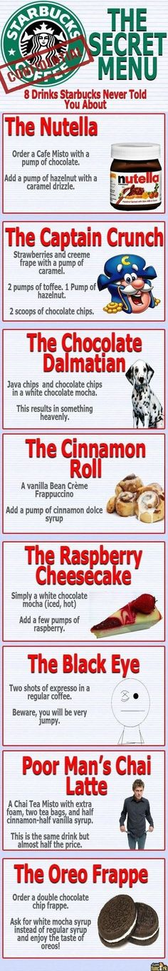 Starbucks Menu // funny pictures - funny photos - funny images - funny pics - funny quotes - #lol #humor #funnypictures