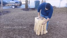 This Intricate Table Collapses Into a Tiny Cube
