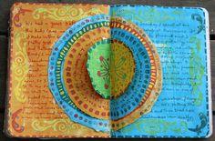 #art journal # art journal page # art journaling # mixed media