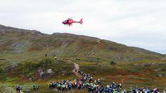 BAMM - a real arctic mountain marathon in Björkliden, Sweden.