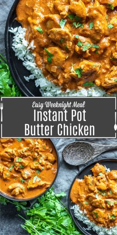 This Instant Pot Butter Chicken is a delicious low carb, keto recipe with authentic Indian flavor that is perfect for di Healthy Butter Chicken Recipe, Butter Chicken Rezept, Butter Chicken Curry, Healthy Chicken, Instant Pot Chicken Thighs Recipe, Chicken Thigh Recipes Oven, Baked Chicken Recipes, Oven Chicken, Chicken Thighs Indian Recipe