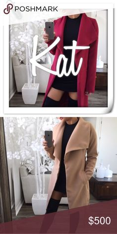 • RESERVED • 9 ITEMS #1 • Burgundy Bell Maxi Coat ( M )  • Tan Mini Coat ( S )  • B&W Fuzzy Hoodie Pocket Cardigan ( S/M )  • Grey Minimal Fuzzy LS ( S )  • Cranberry Sweater Dress ( S )  • Black Mesh X Bodysuit ( S )  • Pinot Noir Suede Midi Skirt ( S )  • Color Block Knit Cardigan ( S )  • Navy Cable Knit Cardigan ( S )     9 Items Current Total: $452 + Christmas Gift🎁✨  Closeout deadline: 12/25 🎅🏼🎄 Other