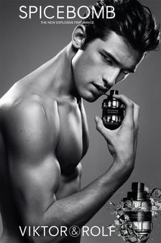 Viktor & Rolf - makers of *excellent* perfume ads omg best freaking man's cologne